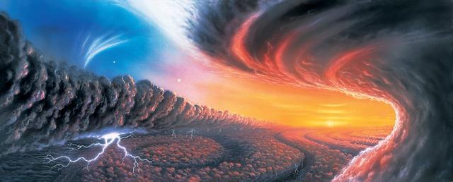"""从""""祝融""""号火星照解析外星天气"""